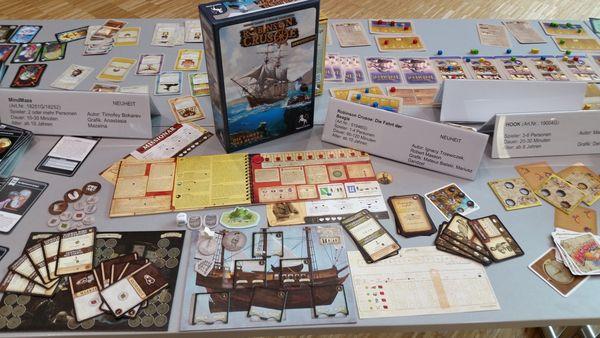 Robinson Crusoe - Erweiterung