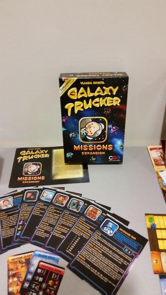 Galaxy Trucker Missions